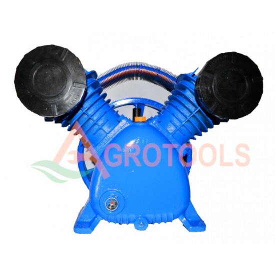 Gaisa kompresora galva (2 cilindri) 600l