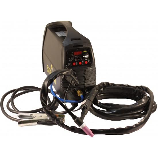 Metināšanas aparāts PULSE TIG + MMA 200A, 220B (STWS200)