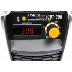 Metināšanas invertors IGBT 300A/MMA, 230V, LCD (KD1852)