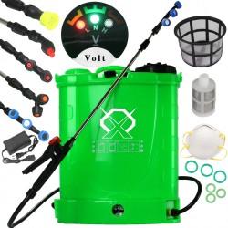 Dārza smidzinātājs - miglitājs 16 l (zaļš) (M80202)
